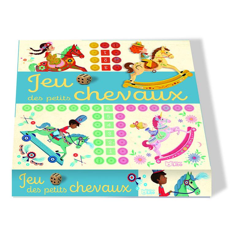 Ma grande boîte à jeu des petits chevaux des éditions Lito 695537