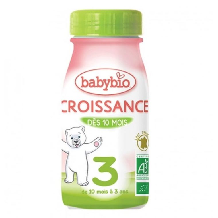 BABYBIO Croissance Liquide bio dès 10 mois - 25 cl 695599