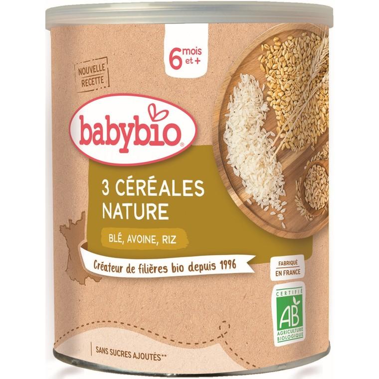 Céréales Nature Blé Avoine Riz - 220 gr / Dès 8 mois 695614