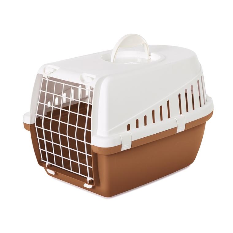 Cage de transport Trotter 1 brun Nordic 49x33x30 cm 695991