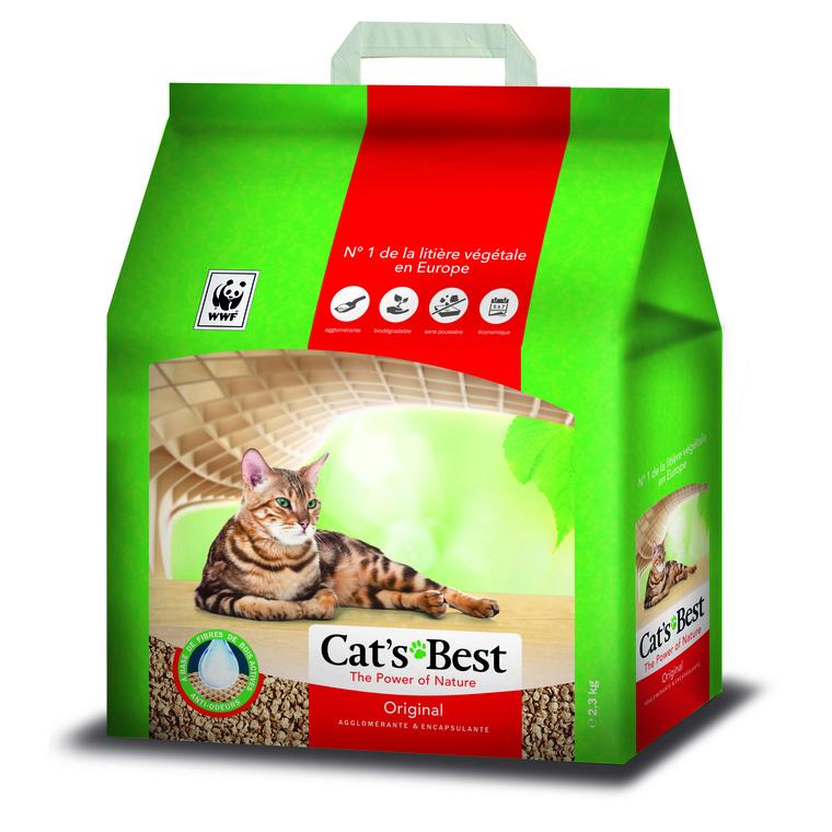 Litière Cat's Best Original 2,3 kg 5 L 695992