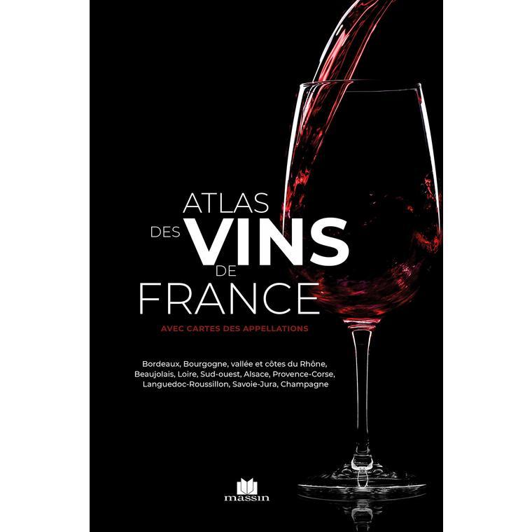 Atlas des vins de France des éditions Massin 696713