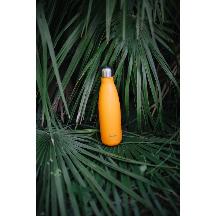 Bouteille isotherme Qwetch en inox Pop orange 500 ml 697146