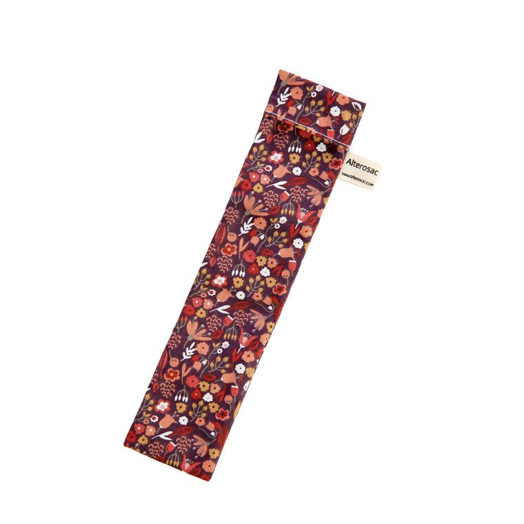 Pochette à brosse à dents en coton 23 x 5 cm 697292