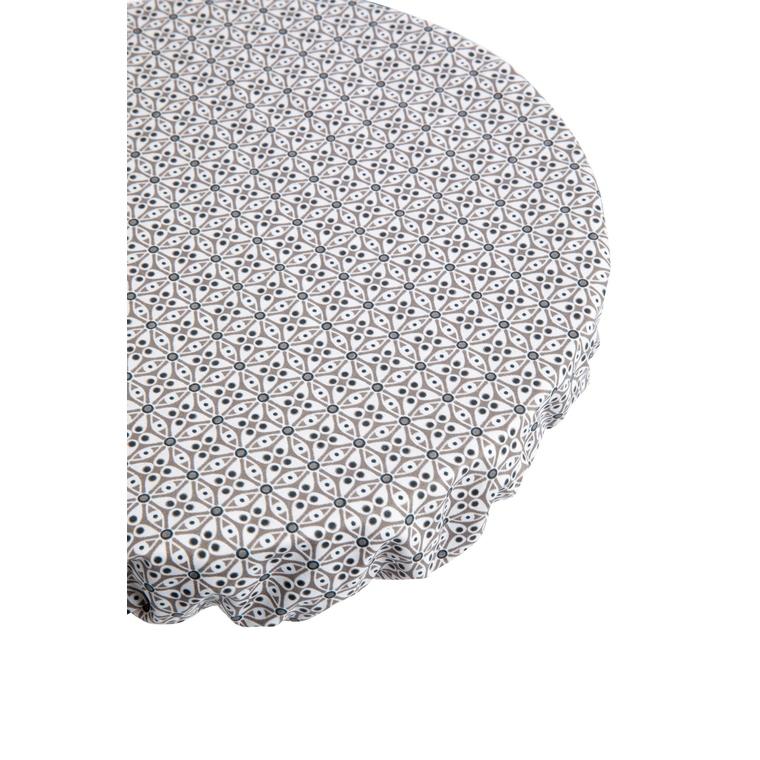 Recouvre bol modèle M en coton enduit 21 x 21 cm 697301