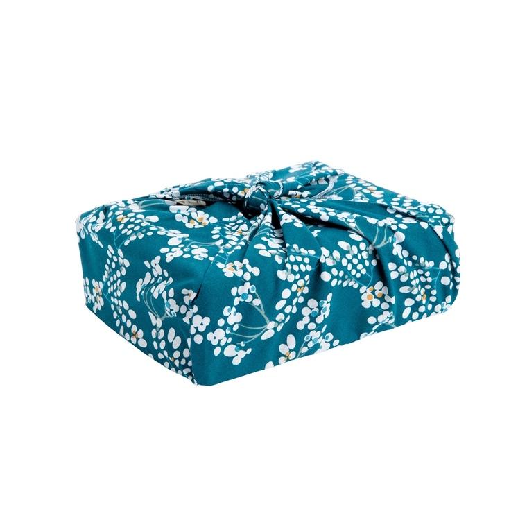 Emballage cadeau zéro déchet Furoshiki en tissu réutilisable 50 x 50 cm 697304