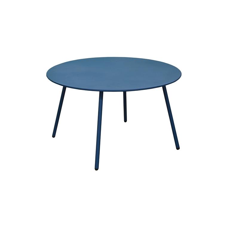 Table basse Cardo coloris bleu Ø 70 x 40 cm 697560