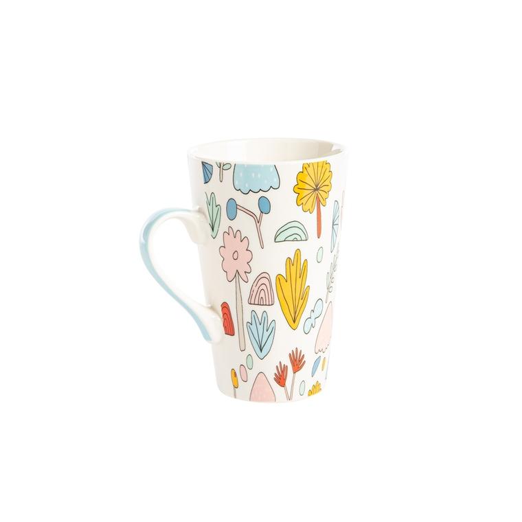 Coffret 2 mugs Wally en porcelaine 46 cl 699138
