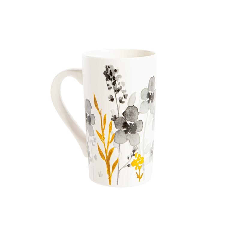 Coffret 2 mugs Flora en porcelaine 50cl 699154