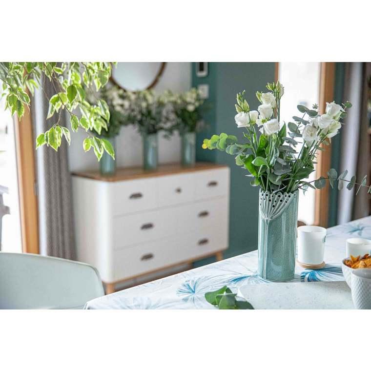 Vase vert pour plante 699727