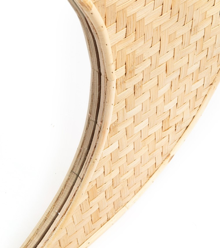 Miroir en bambou tressé 70x50 699896