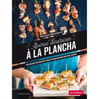 Livre apéros dînatoires à la plancha éditions Larousse 120 pages 700520