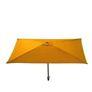 Parasol rectangulaire uni jaune 300 x 200 x 200 cm 700577