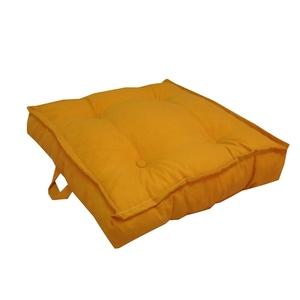 Tatami carré uni jaune curcuma 66 x 66 x 15 cm 700579