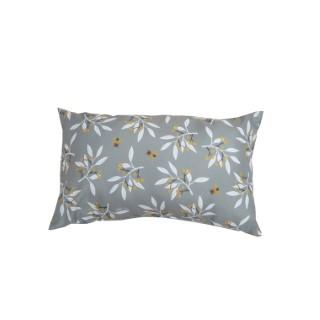 Coussin déco rectangulaire gris olivadou mastic 50 x 30 x 10 cm 700599