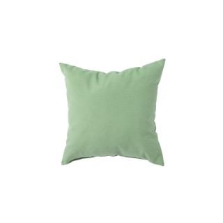 Coussin carré uni vert céladon 40 x 40 x 10 cm 700613