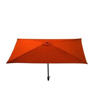 Parasol rectangulaire uni rouge 300 x 200 x 200 cm 700621