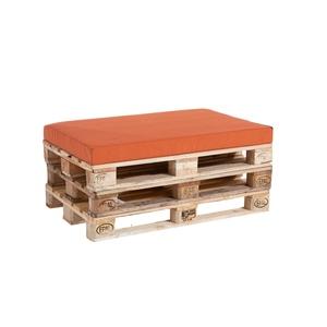 Coussin d'assise rouge paprika pour palette 119 x 80 x 10 cm 700640