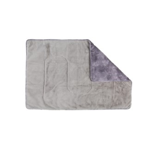 Couverture scruffs Kensington grise 110x75 cm 700816