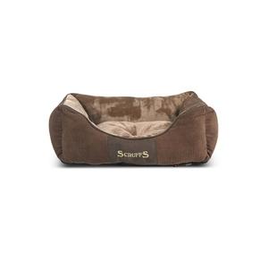 Corbeille scruffs chester S marron 50x40 cm 700824