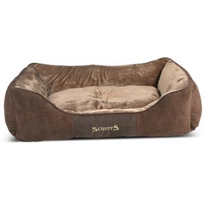 Corbeille scruffs chester XL marron 90x70 cm 700827