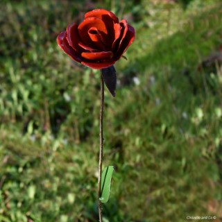 Tuteur Rose rouge 700904