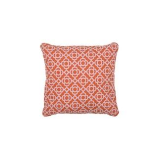 Coussin carré Lorette orange carotte 44 x 44 cm 702357