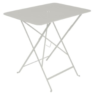 Table pliante Bistro rectangulaire gris argile 77 x 57 x 74 cm 702388