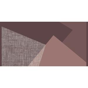 Paillasson Memphis Sienne roulé 98x50 cm 702593