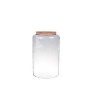 Vase Mia bouchon liège S Ø19xH40 cm 704285