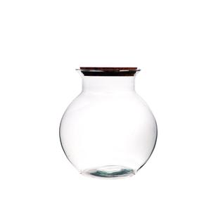Vase Bose Tulip taille M avec bouchon liège Ø 25 x H 26,5 cm 704288