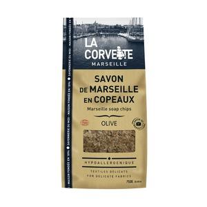 Sachet de Savon de Marseille en copeaux olive 750 g 704771