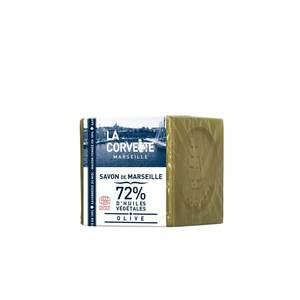 Cube de savon de Marseille olive sous film 200 g 704780