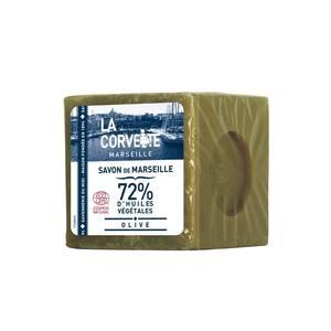 Cube de savon de Marseille olive sous film 300 g 704782