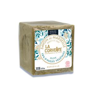 Cube de savon de Marseille olive Édition limitée 2020 300 g 704786