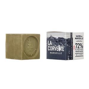 Cube de savon de Marseille olive Boîte 100 g 704787