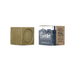 Cube de savon de Marseille olive Boîte 200 g 704789