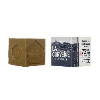 Cube de savon de Marseille olive Boîte 300 g 704791