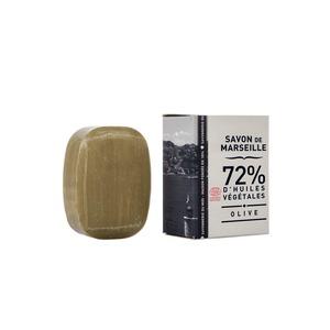 Petit galet de savon de Marseille olive Boîte 50 g 704795