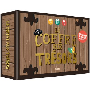 P'tit jeu - Le coffre aux trésors. Editions Auzou 705460
