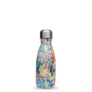 Bouteille Isotherme Qwetch inox Arty By Lou Ripoll multicolore 260 ml 706886