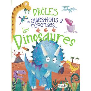 Drôles de question - Les dinosaures. Editions Grenouille 708563