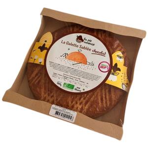 Galette des Rois sablée au chocolat 450g 709526