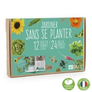 Coffret 12 sachets Jardiner sans se planter 12x17 cm 709866