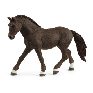 Figurine Poney de selle allemand hongre plastique 12x3,8x8,5 cm 5-12 ans 711441