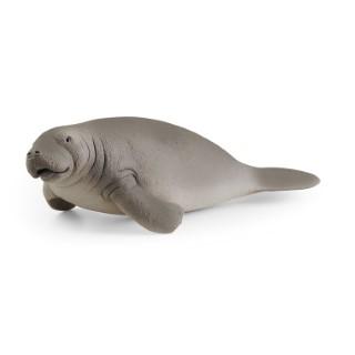 Figurine Lamantin plastique 15,8x6x4,1 cm 3-8 ans 711445