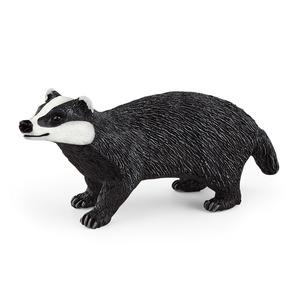 Figurine Blaireau plastique 7,8x2,3x3,4 cm 3-8 ans 711448