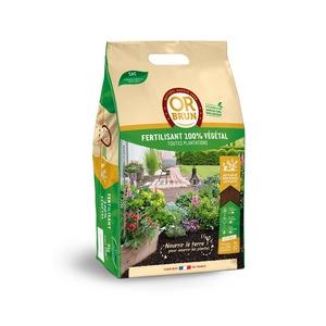 Fertilisant 100% végétal Or brun. Le sac de 8 kg 711592