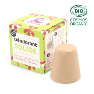 Déodorant solide bergamote géranium peau normale. Le bloc de 30 ml 714349