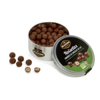 Noisettes au chocolat au lait bio - boite de 180 g 714551